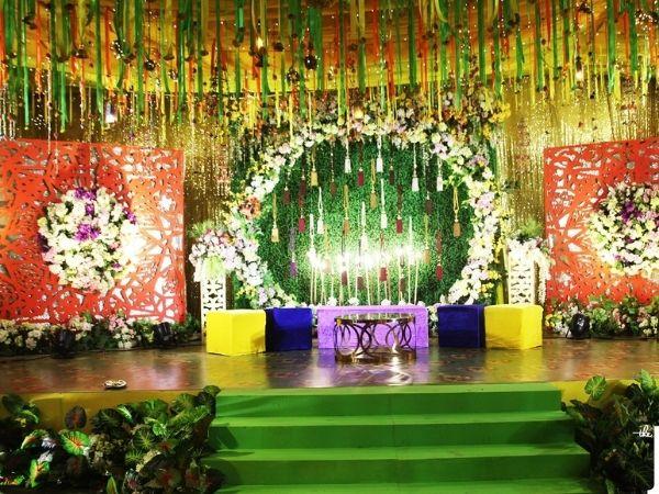 Gaye holud Stage Decoration