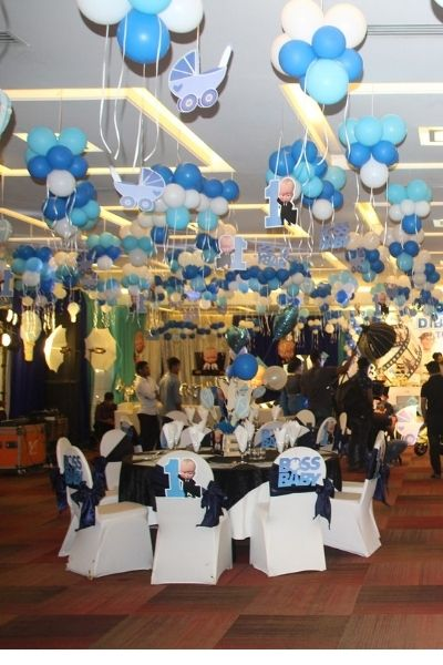 birthday party planner packages