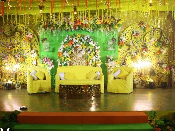 gaye holud stage decoration in bangladesh