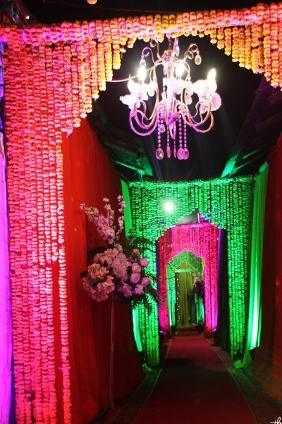holud stage decoration